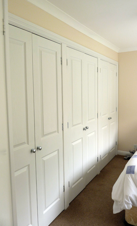 Fitted Wardrobes White